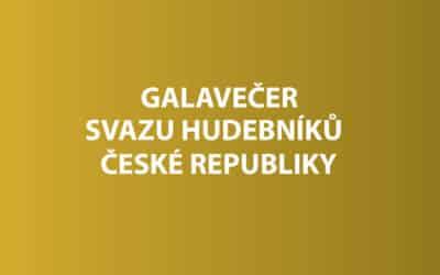 Galavečer Svazu hudebníků ČR
